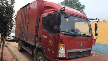 中國重汽悍將 載貨車  150匹 2017年03月 4x2