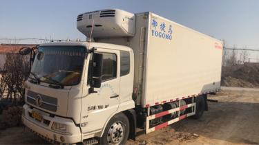 東風天錦 冷藏車  160匹 2016年09月 4x2
