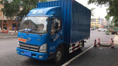 #其他品牌一汽解放轻卡 虎VN,载货车  120匹 2021年05月 4x2