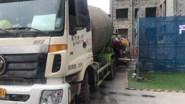 福田欧曼ETX 混凝土搅拌车  2017年03月 4x2