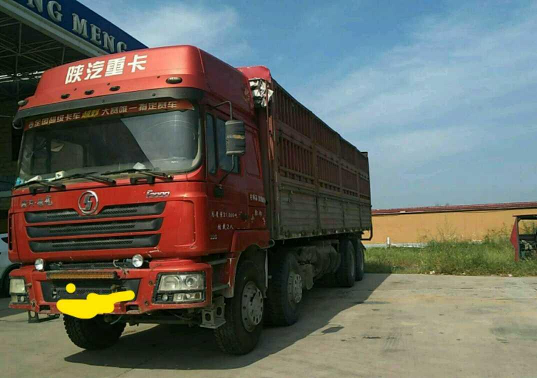 陕汽德龙F3000 载货车  336匹 2014年03月 8x4