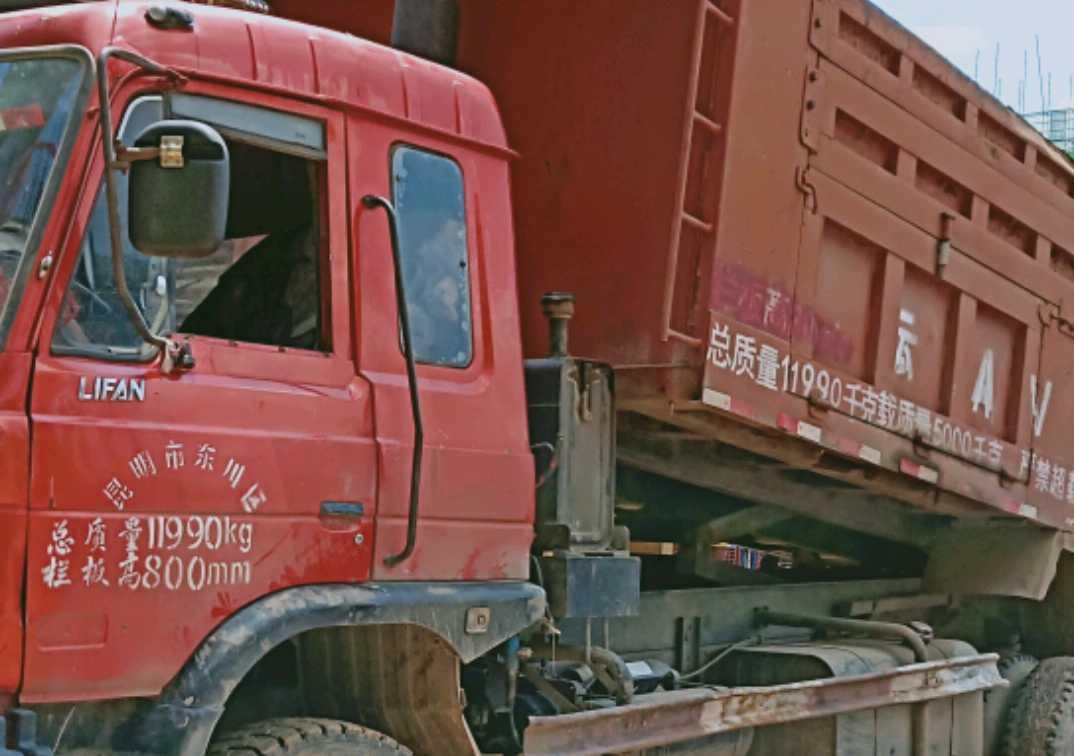 力帆其他车系 自卸车  240匹 2010年04月 4x2