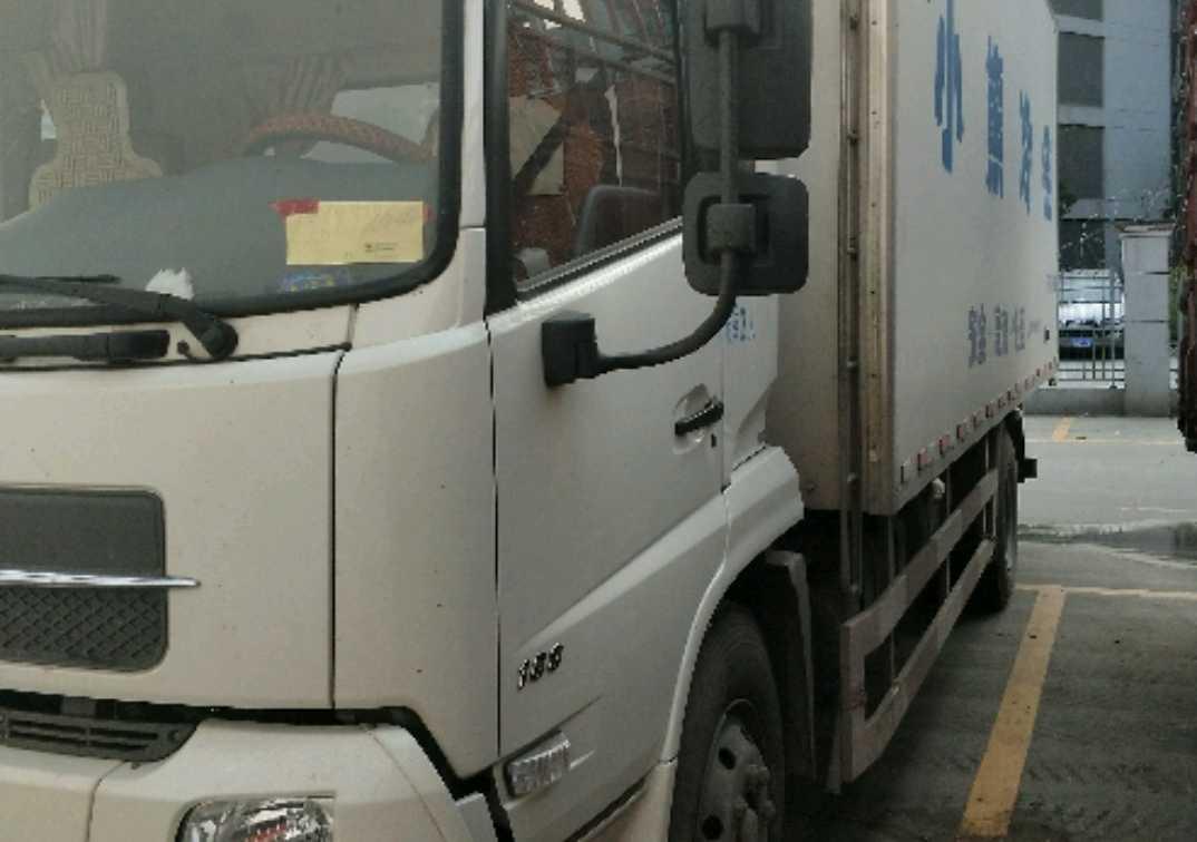东风天锦 冷藏车  180匹 2017年10月 4x2
