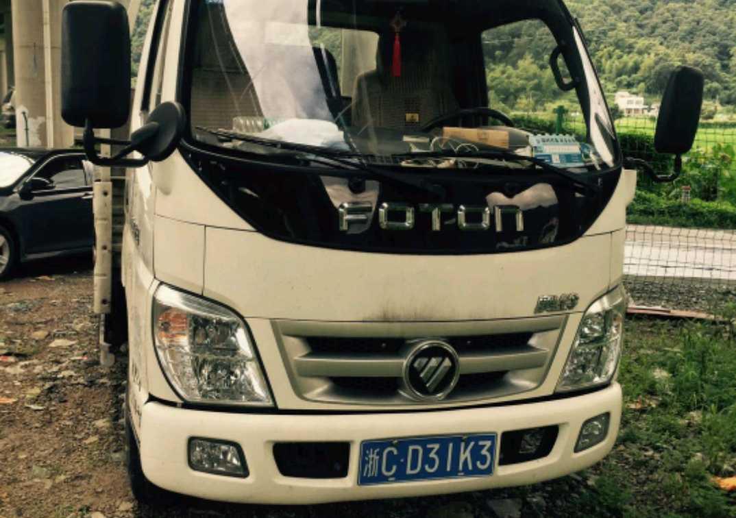 福田欧曼其他车系 载货车  120匹 2015年08月 4x2