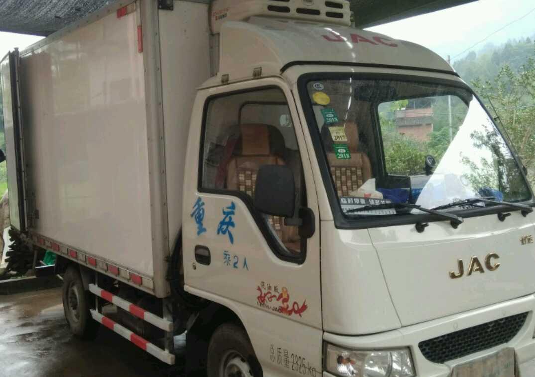 江淮其他车系 冷藏车  87匹 2016年12月 4x2