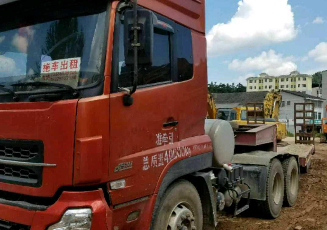 东风天龙 牵引车  420匹 2010年01月 6x4