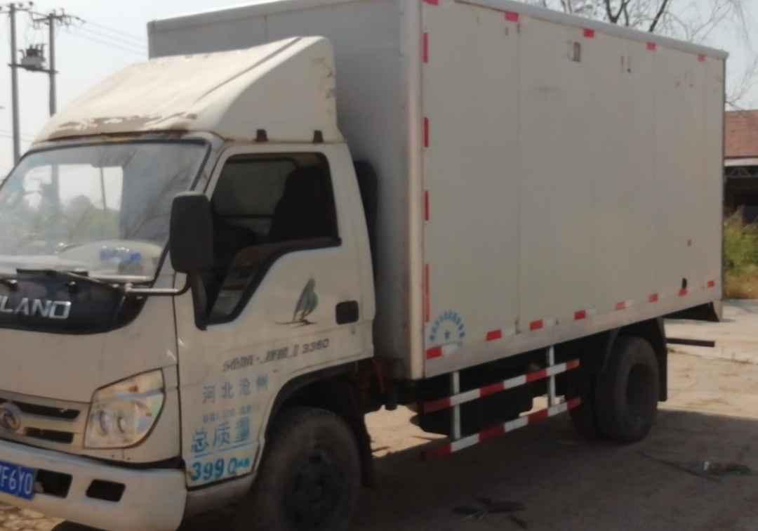 北汽福田其他车系 载货车  92匹 2010年06月 4x2