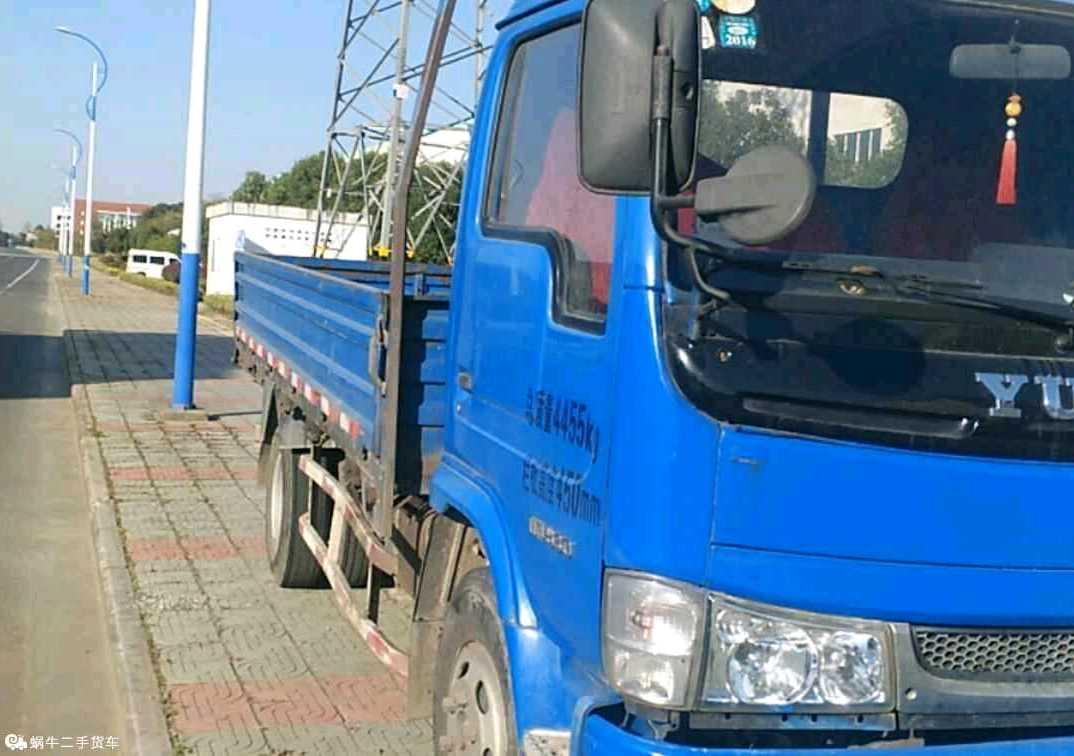 南京依维柯跃进 载货车  120匹 2012年12月 4x2