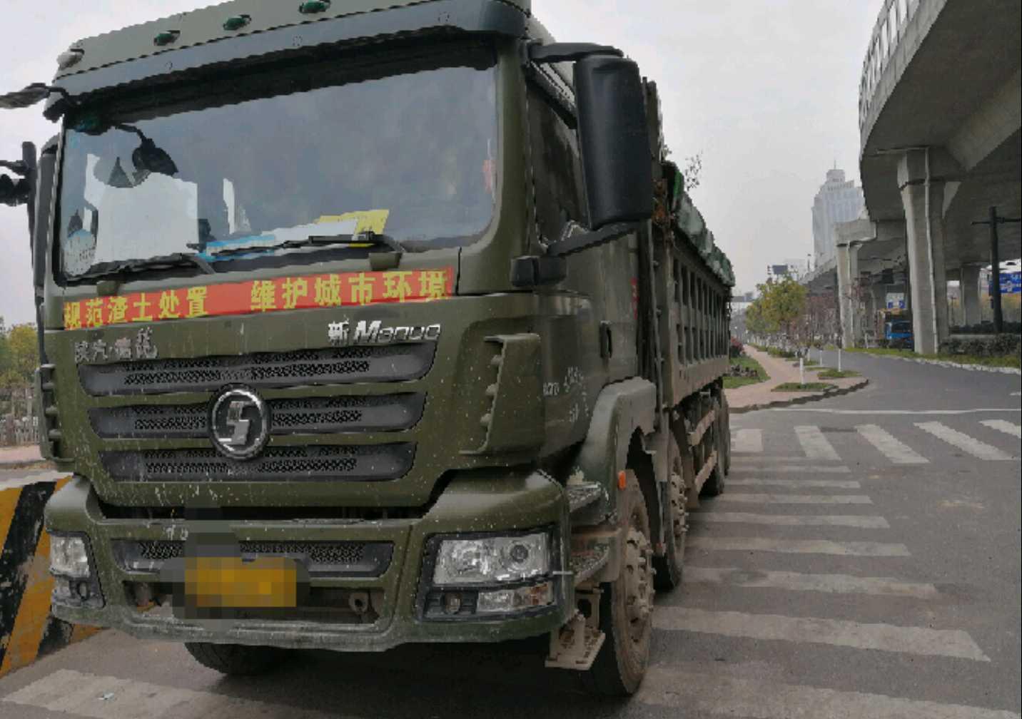 陕汽德龙新M3000 自卸车  336匹 2015年03月 8x4