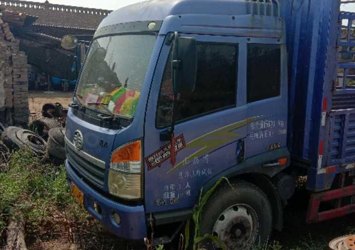 青岛解放其他车系 载货车  175匹 2012年03月 4x2