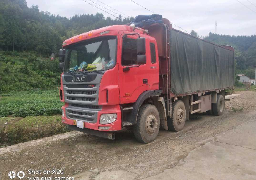 江淮格尔发 载货车  245匹 2017年05月 6x2