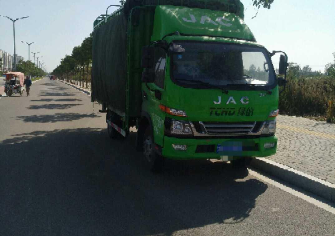 江淮格尔发K3X重卡 轻量化 载货车  156匹 2018年07月 4x2