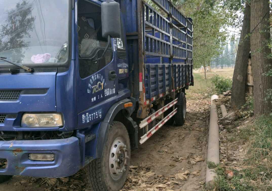 北汽福田瑞沃 载货车  140匹 2012年07月 4x2