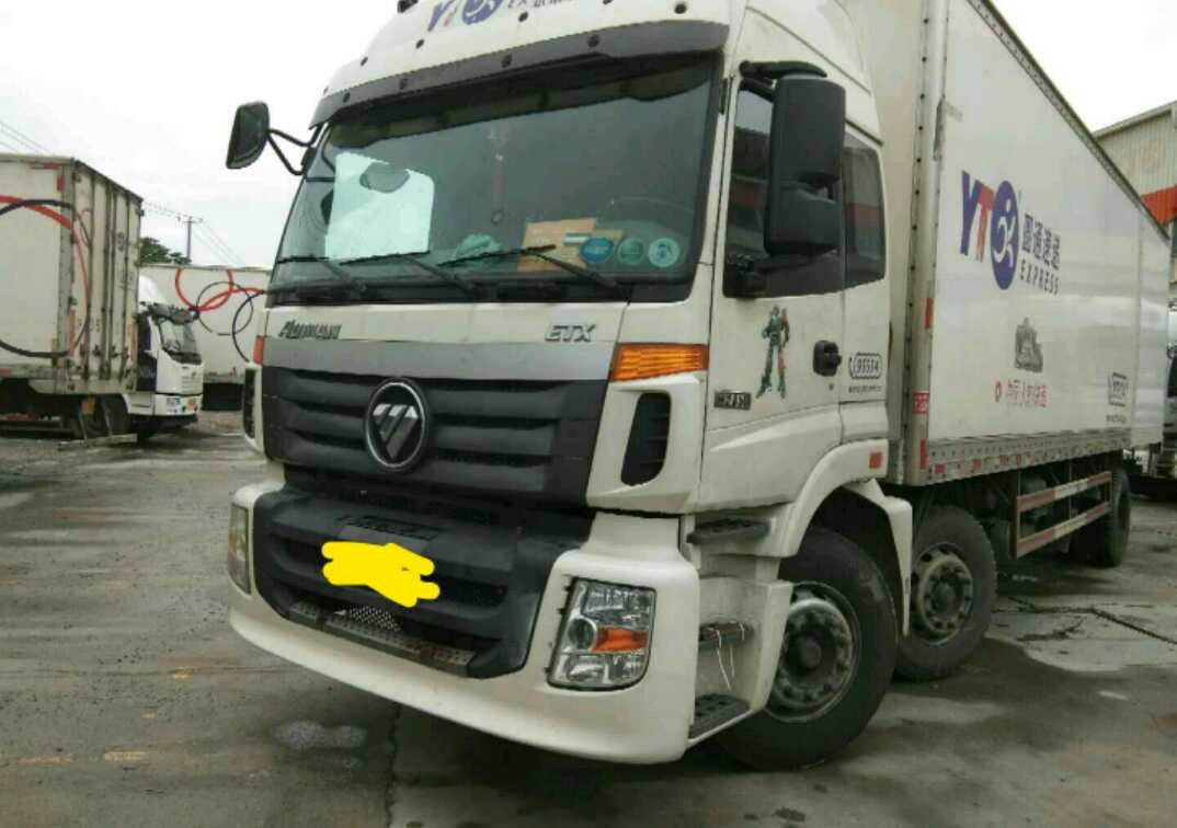 福田欧曼ETX 载货车  245匹 2014年09月 6x2