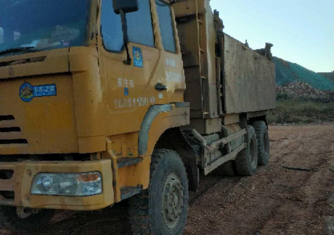 上汽红岩金刚 自卸车  290匹 2010年03月 6x4
