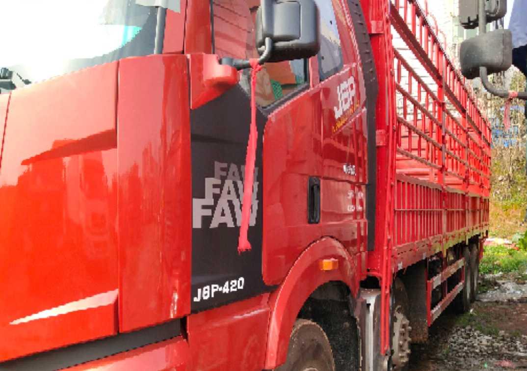 一汽解放J6M重卡 質惠版 載貨車  420匹 2019年02月 8x4