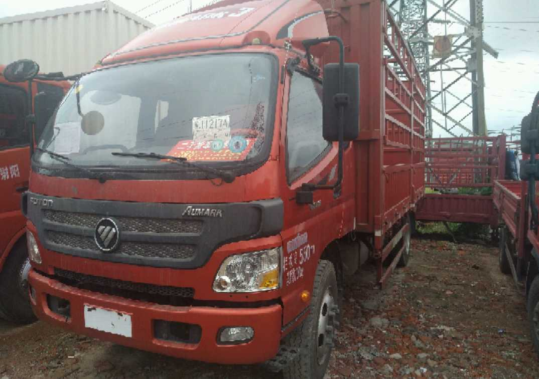 福田歐曼其他車系 載貨車  154匹 2015年10月 4x2