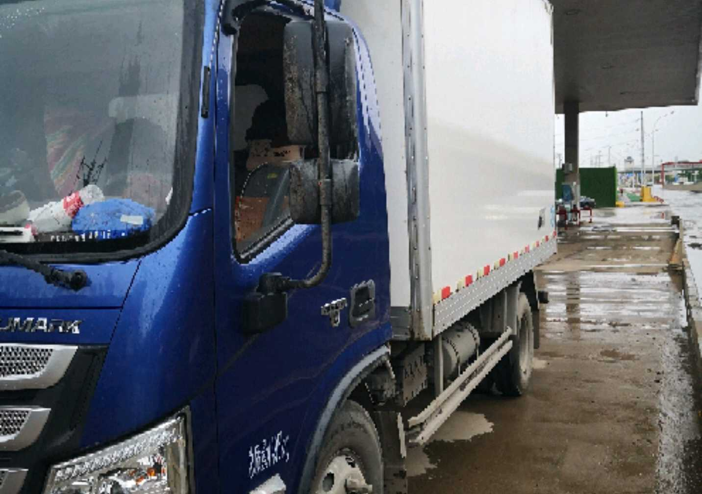 福田欧曼其他车系 冷藏车  148匹 2018年03月 4x2