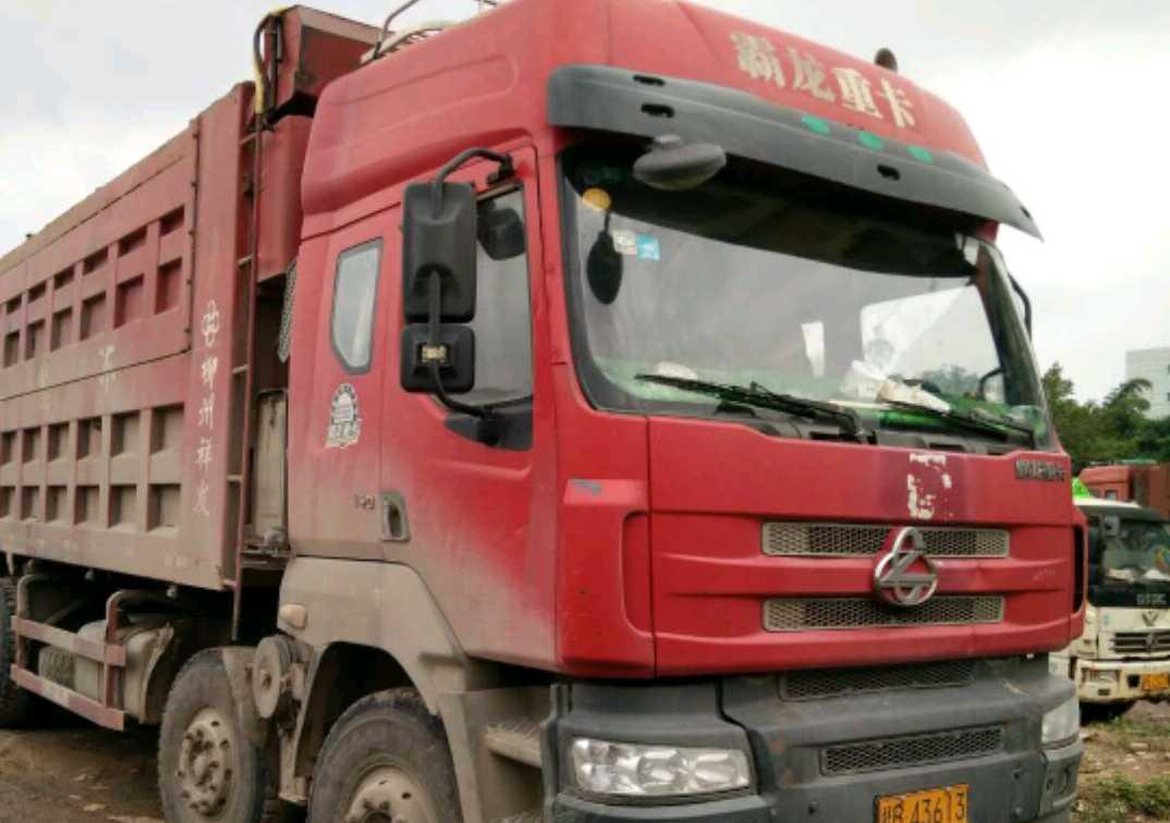 东风霸龙 自卸车  340匹 2011年08月 6x4
