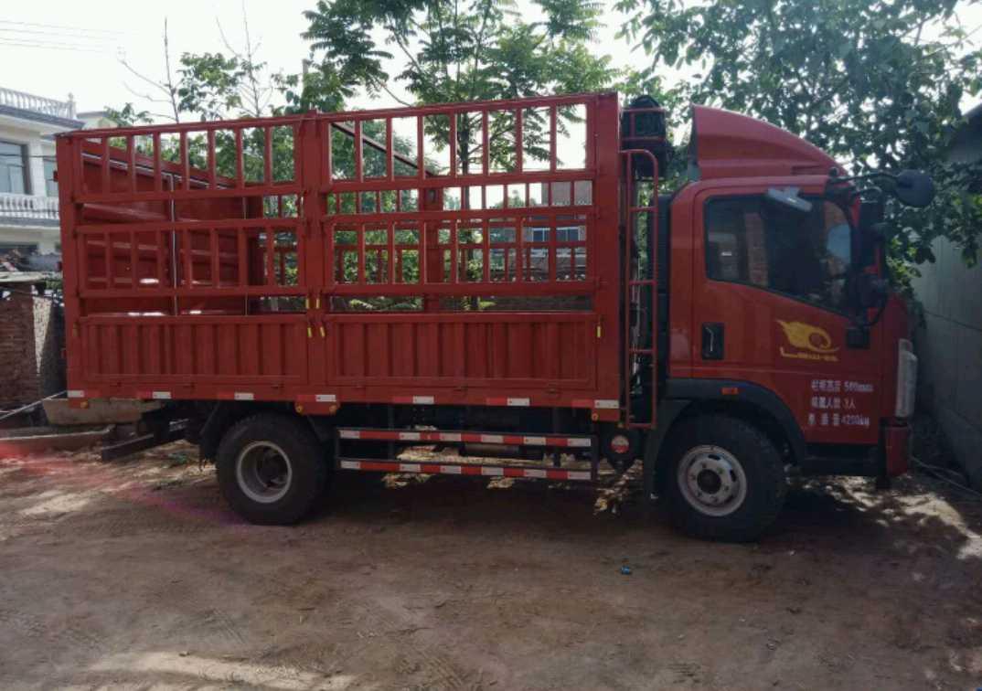 中国重汽HOWO 载货车  170匹 2019年05月 4x2