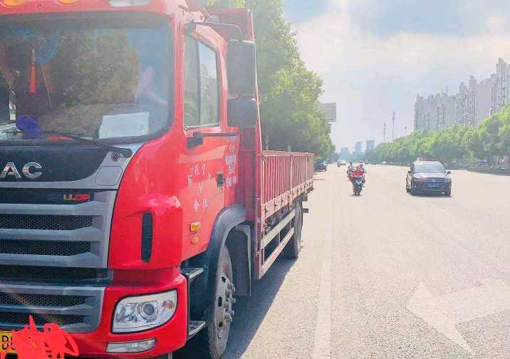 江淮格爾發A5L中卡 豪華型 載貨車  180匹 2017年04月 4x2