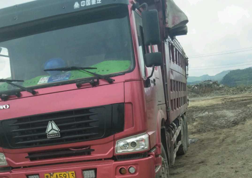 中国重汽HOWO 载货车  336匹 2012年04月 6x4
