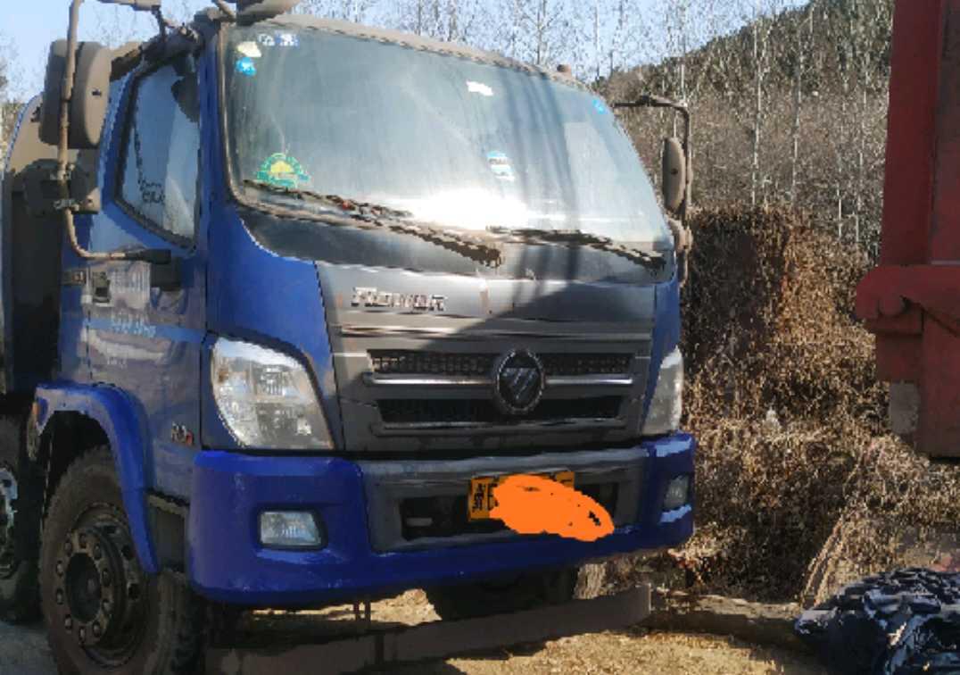 福田瑞沃瑞沃中型 自卸車  160匹 2017年03月 4x2
