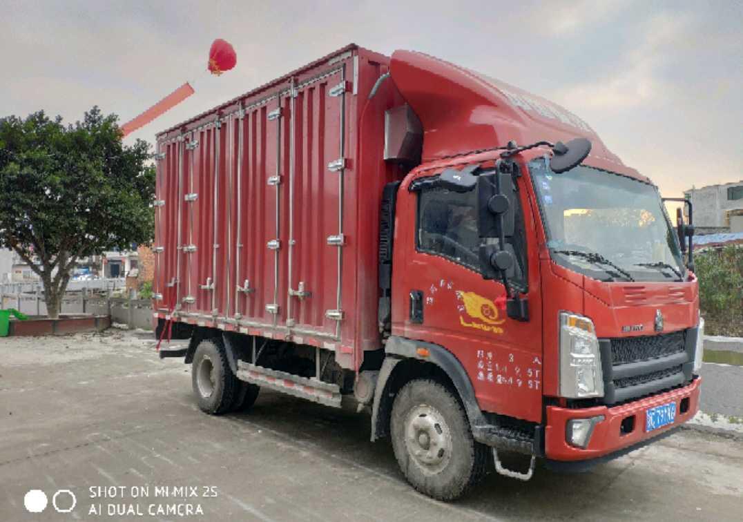 中國重汽HOWO 載貨車  170匹 2018年11月 4x2