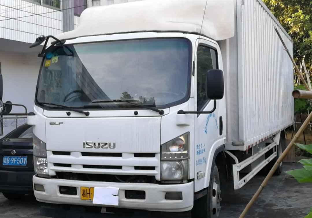 五十鈴E系列 載貨車  190匹 2017年05月 4x2