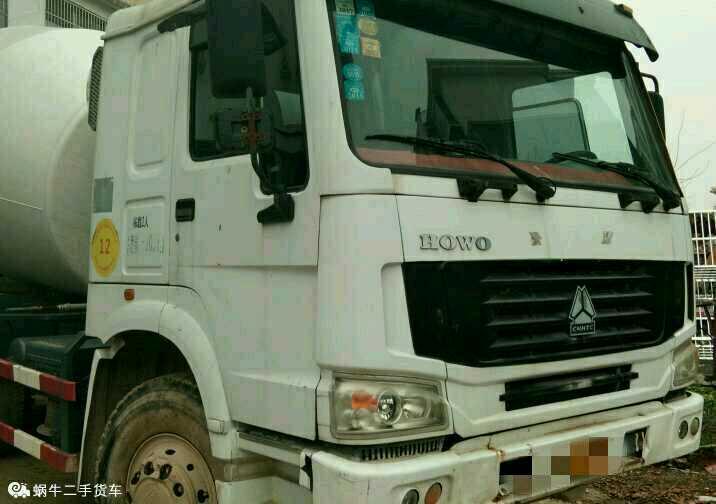 中國重汽HOWO 混凝土攪拌車  336匹 2012年03月 6x4