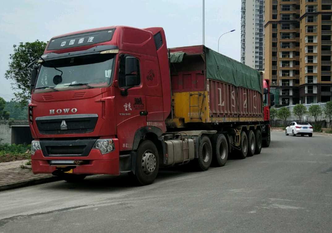 重汽豪沃(HOWO)HOWO T7H重卡 牵引车  540匹 2016年06月 6x4