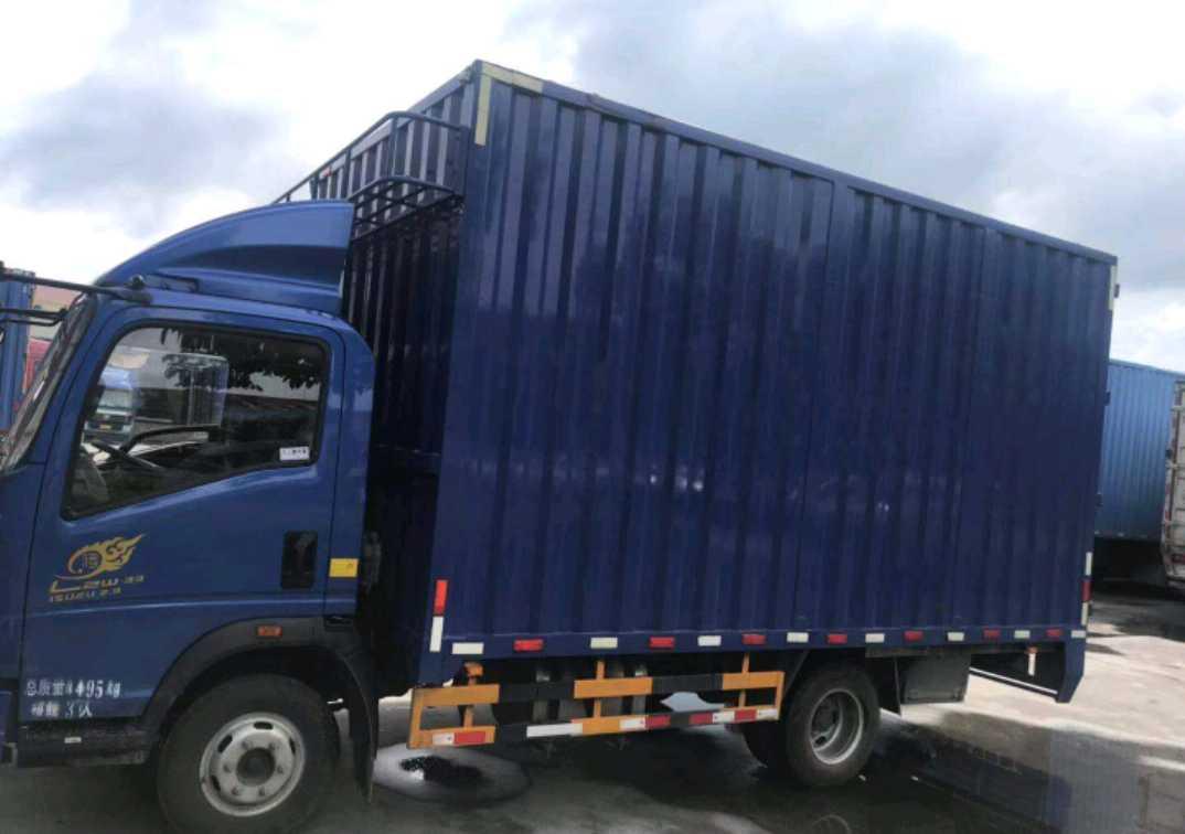 中國重汽悍將 載貨車  118匹 2018年10月 4x2