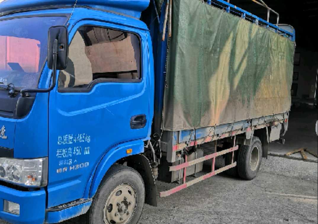 南京依維柯躍進 載貨車  120匹 2016年11月 4x2