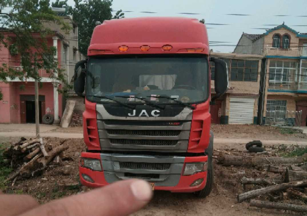 江淮格尔发 载货车  220匹 2014年02月 6x2