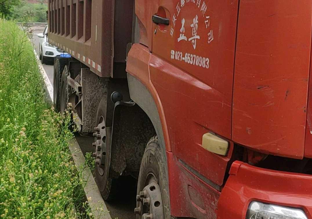 东风商用东风大力神 自卸车  290匹 2012年05月 8x4