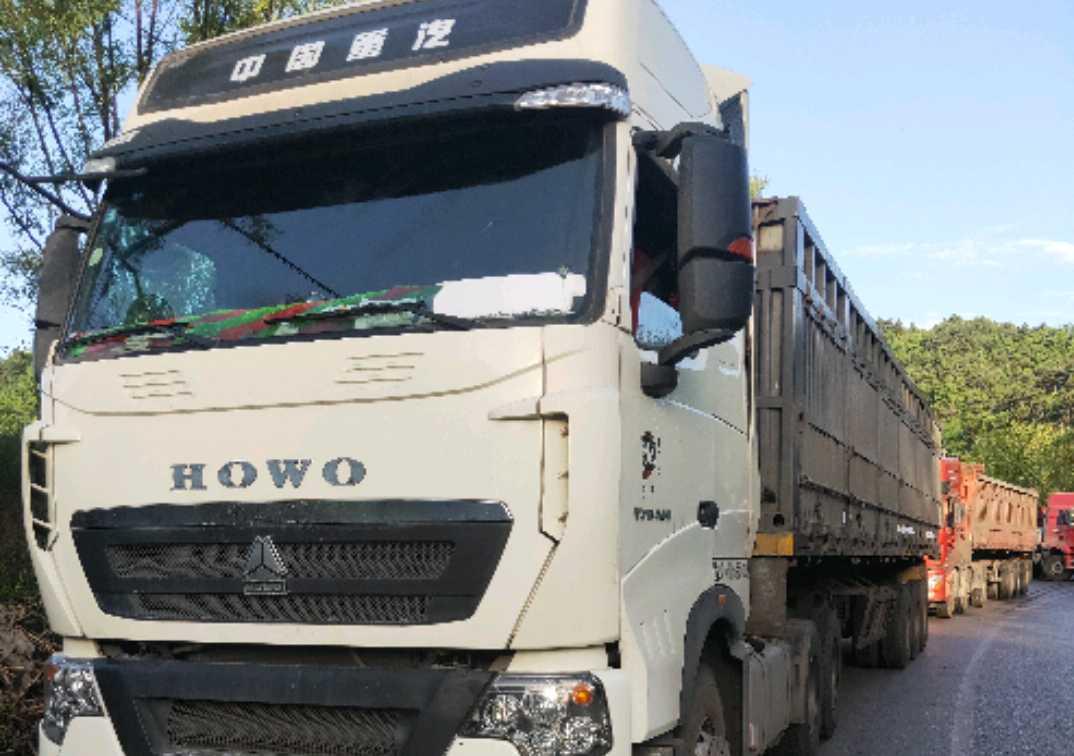 中國重汽HOWO 牽引車  540匹 2018年01月 6x4