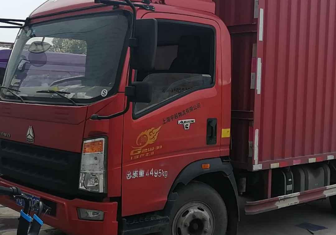 中國重汽HOWO 載貨車  148匹 2017年09月 4x2