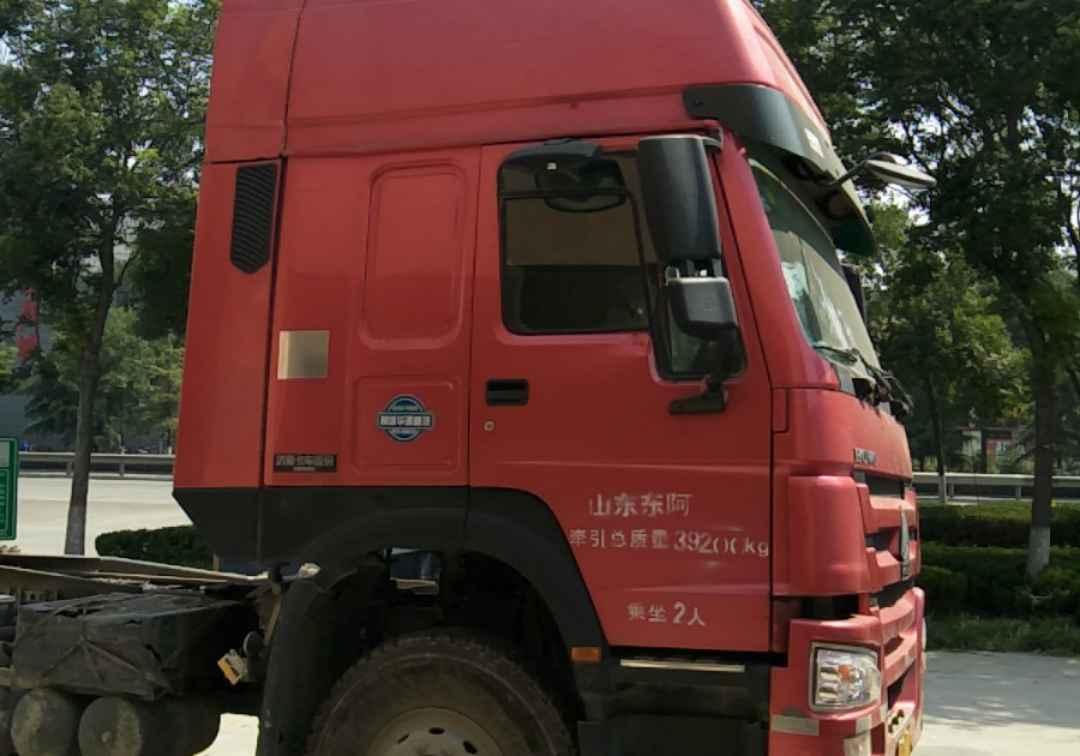 中國重汽HOWO 牽引車  380匹 2017年04月 6x4