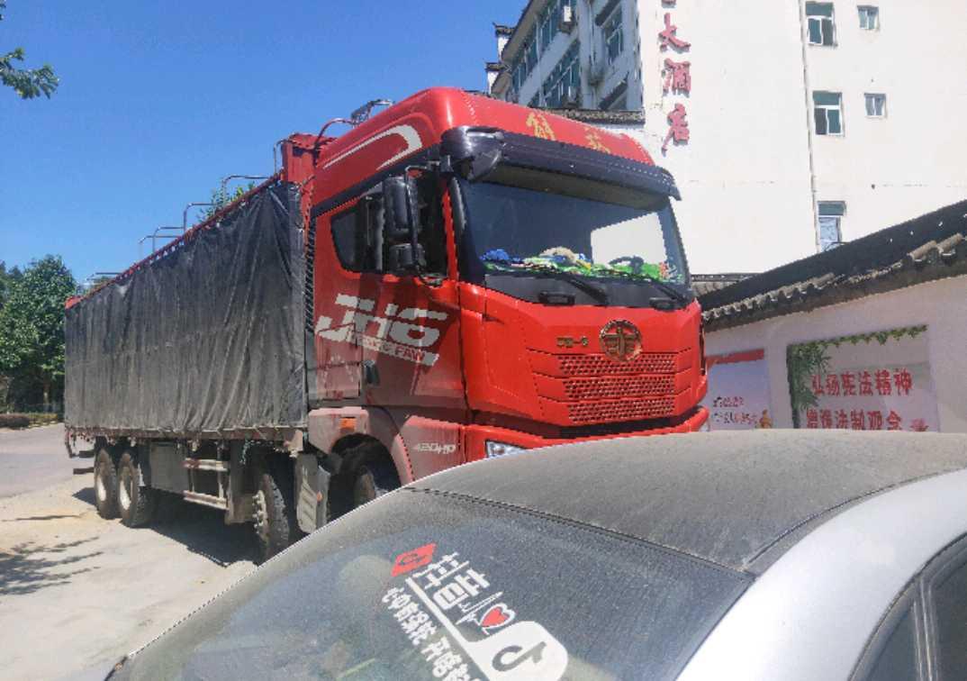 青島解放JH6 載貨車  420匹 2019年03月 8x4