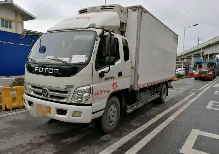 福田歐曼其他車系 冷藏車  154匹 2019年10月 4x2