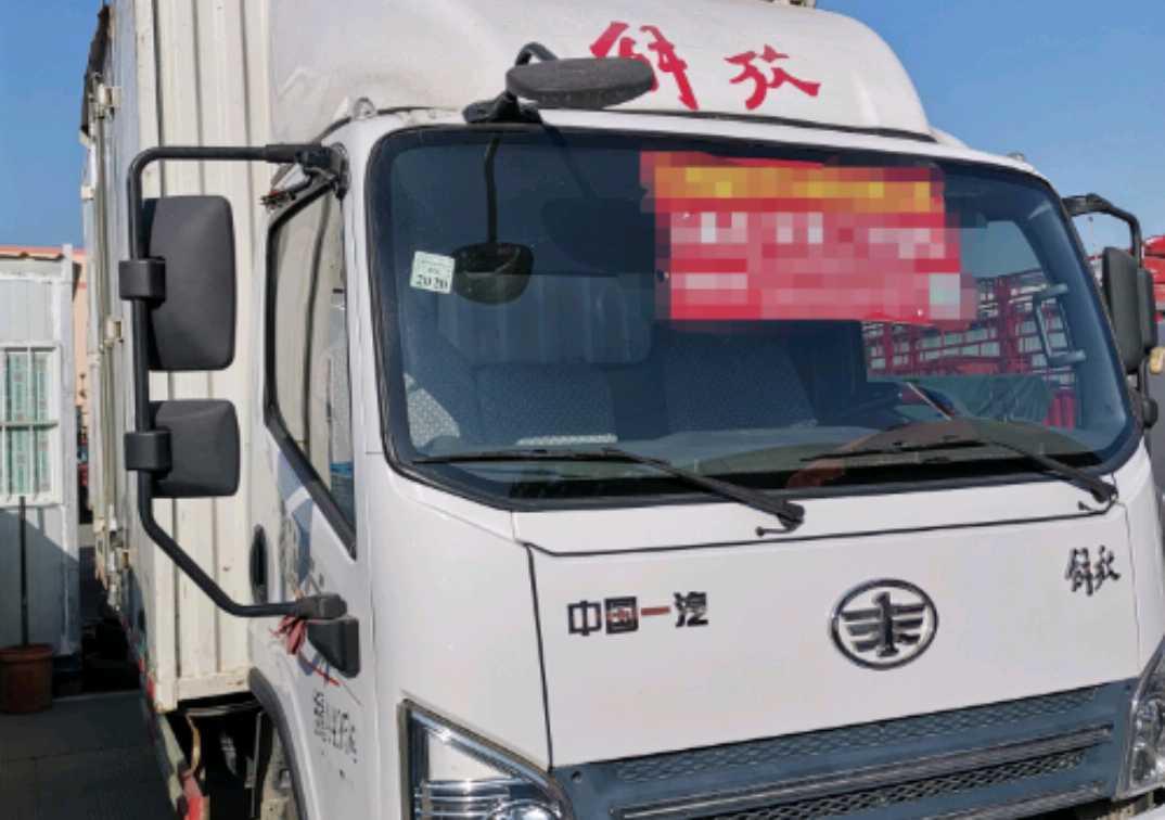 青島解放龍V 載貨車  130匹 2018年10月 4x2