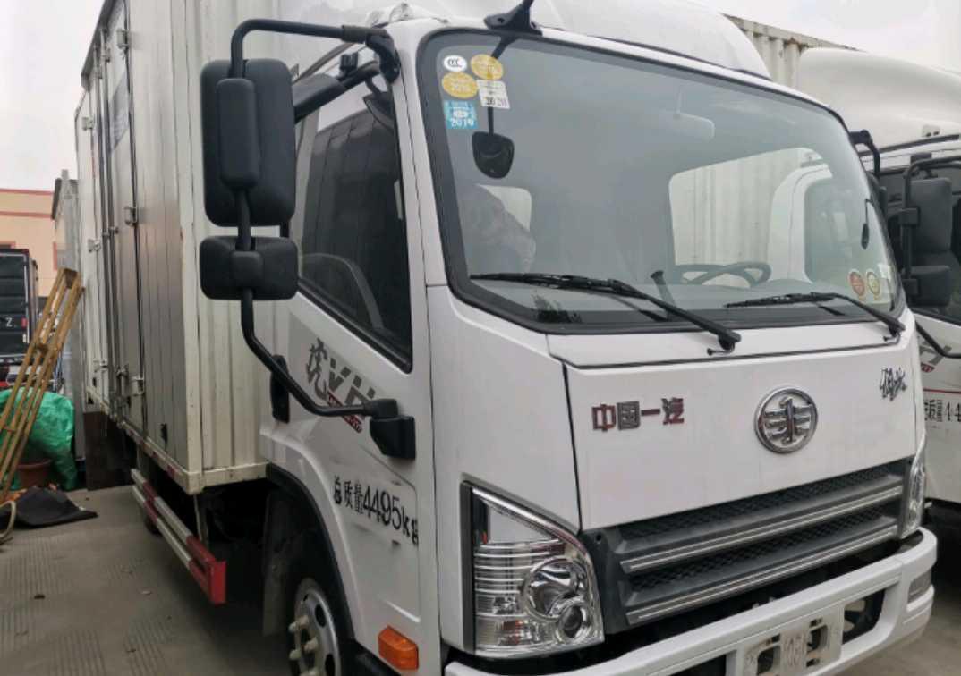 青島解放龍V 載貨車  130匹 2017年09月 4x2
