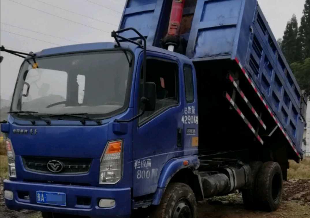 中國重汽豪曼 自卸車  130匹 2014年12月 4x2