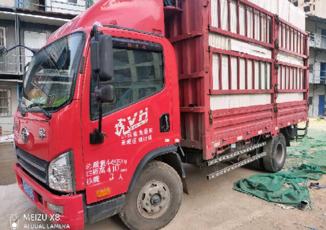 青島解放其他車系 載貨車  140匹 2018年03月 4x2
