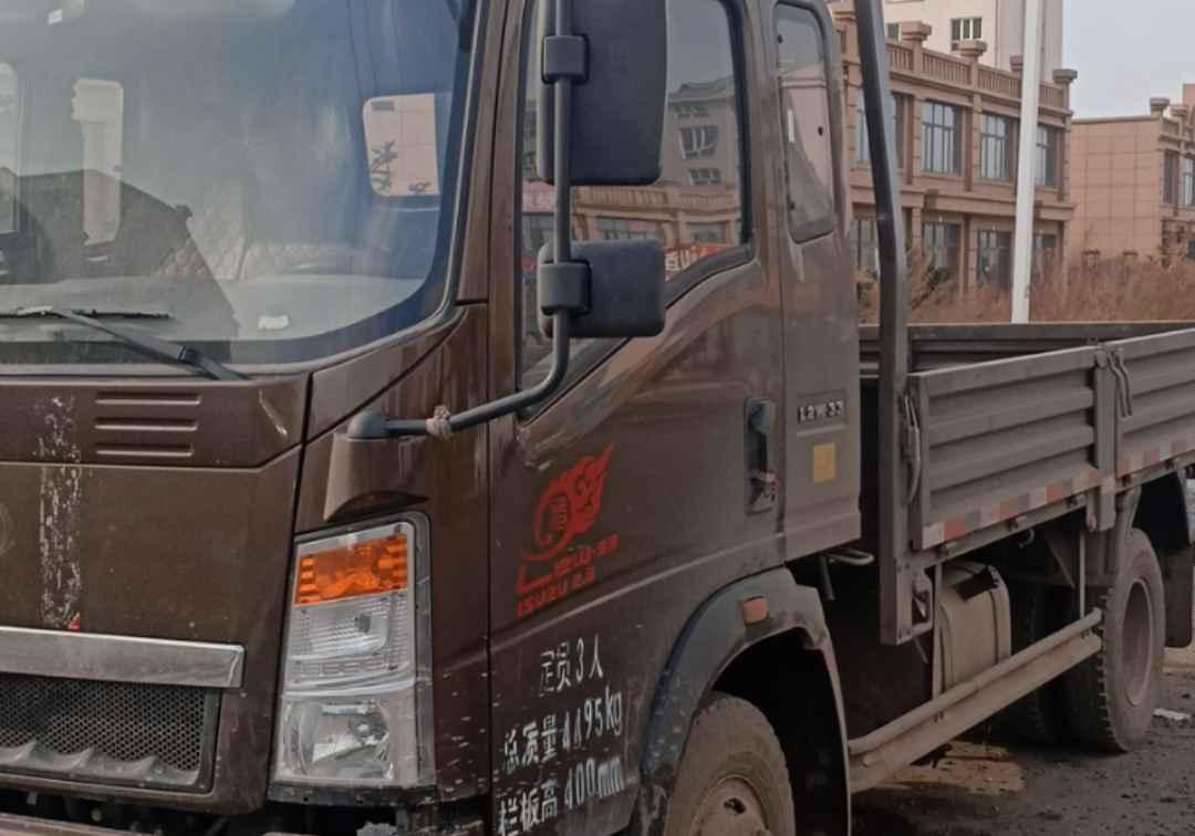 中國重汽HOWO 載貨車  120匹 2017年10月 4x2