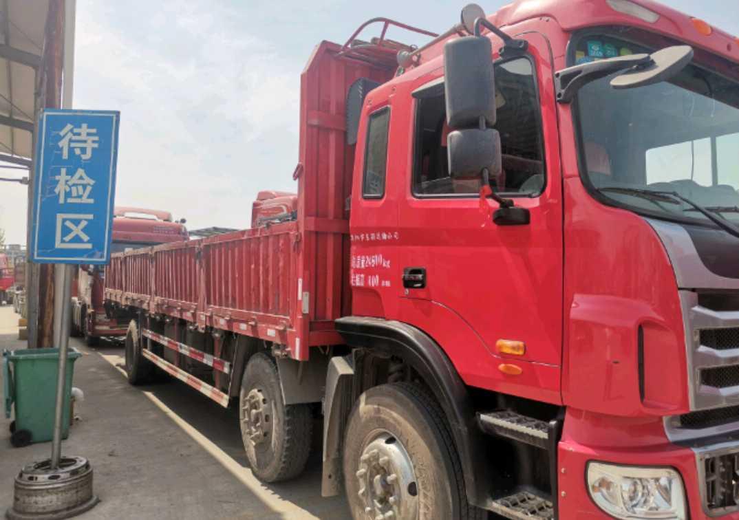 江淮格爾發K5L中卡 標載型 載貨車  240匹 2016年03月 6x2
