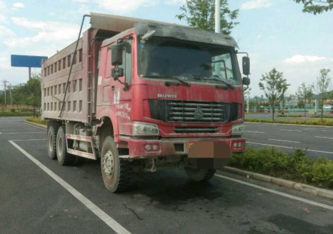 中國重汽HOWO 自卸車  336匹 2014年12月 6x4