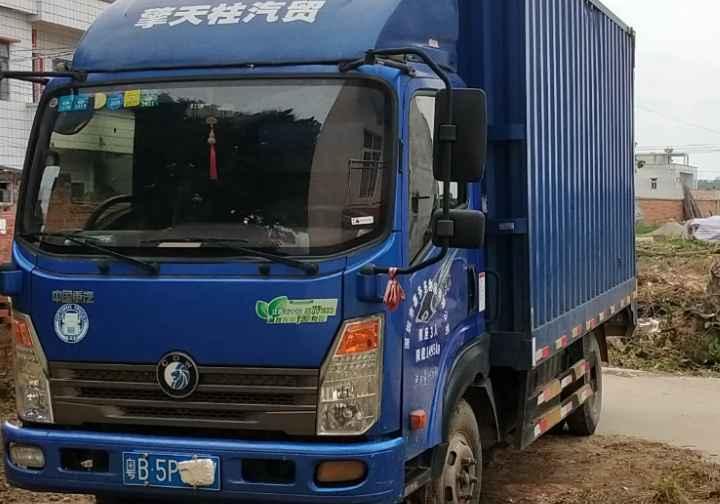 中国重汽王牌 载货车  130匹 2017年04月 4x2