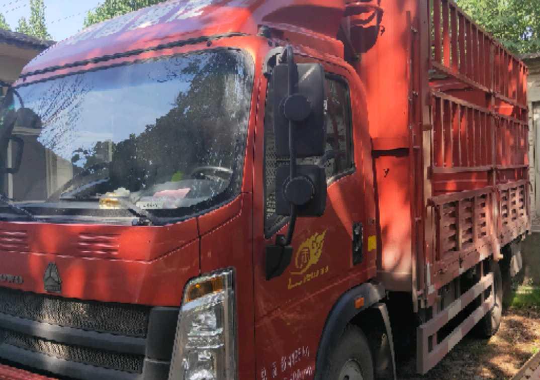 中国重汽悍将 载货车  160匹 2020年03月 4x2