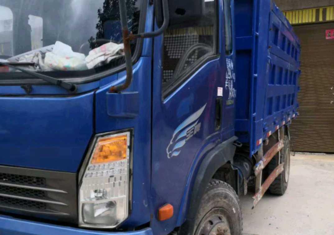 中國重汽王牌 自卸車  160匹 2014年04月 4x2
